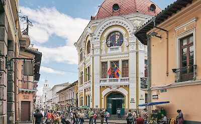 Quito, Ecuador. Flickr:Pedro Szekely