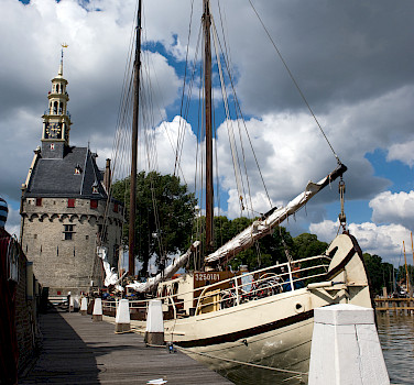 Docked in Hoorn - Elizabeth