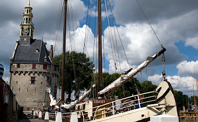 Docked in Hoorn - Elizabeth | Bike & Boat Tours