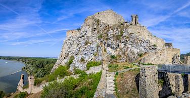 Great views in Devin near Bratislava, Slovakia. Photo via Flickr:Kurt Bauschardt