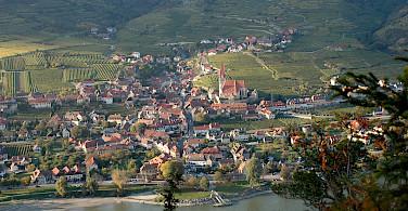 'Weißkirchen' in the center of Krems, Austria along the Danube River. Photo via Wikimedia Commons:Bauer Karl