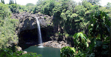 Rainbow Falls in Hilo, Hawaii. Photo via Flickr:Lori Branham