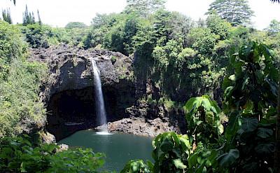 Rainbow Falls in Hilo, Hawaii. Photo via Flickr:Lori Branham