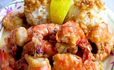 Shrimp galore in Hawaii. Photo via Flickr:tweber1