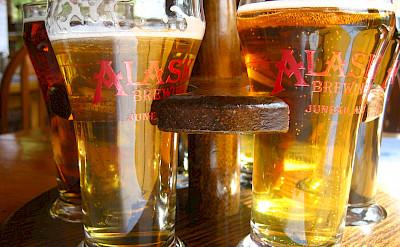 Alaska Beer Brewery samplings. Photo via Flickr:Jeremy Keith