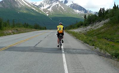 The mountains of Alaska await! Photo via Tour Operator.