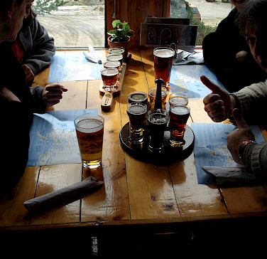 Beer sampling in Denali, Alaska. Photo via Flickr:Barbara Ann Spengler