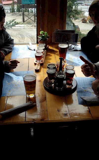 Beer sampling in Denali, Alaska. Photo via Flickr:Barbara Ann Spengler