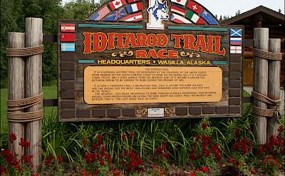 Iditarod Trail Museum in Wasilla, Alaska. Photo via Flickr:Jeffrey Beall