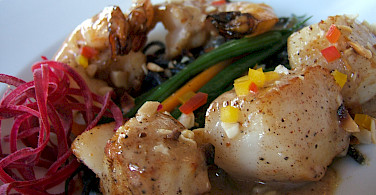 Shrimp and scallops with our beer tonight perhaps? Photo via Flickr:Jessica Spengler