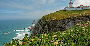 Cabo da Roca, the westernmost point, Portugal. Photo via Flickr:bvi4092