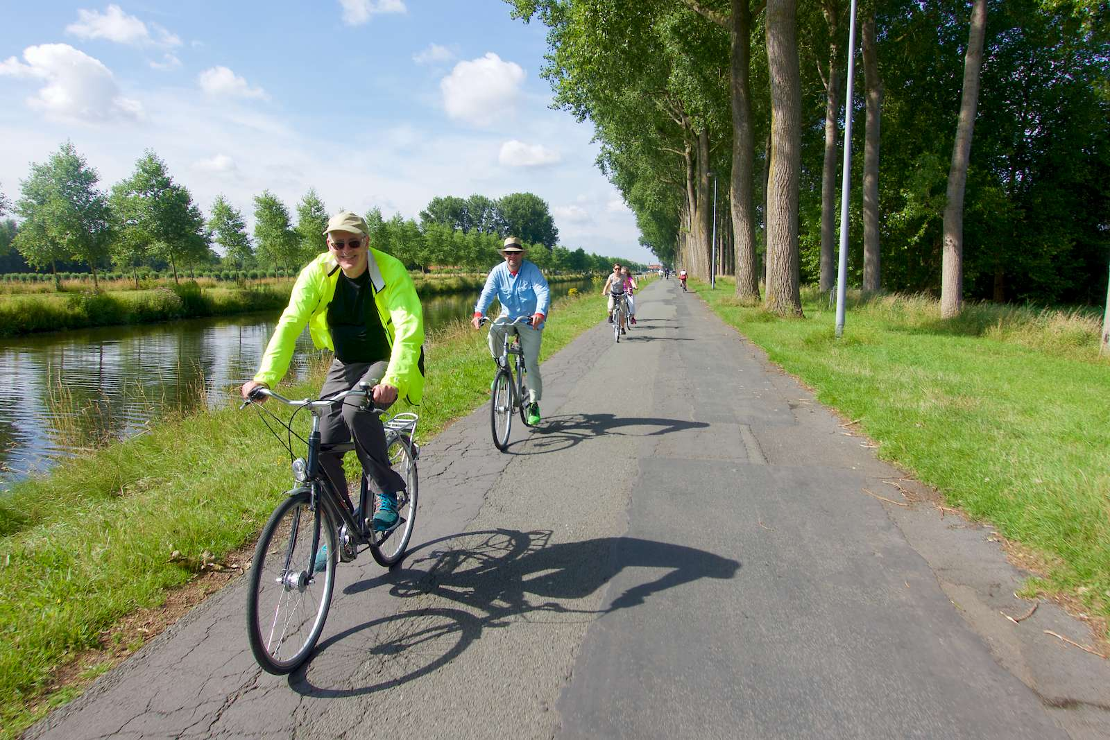 Fun, Built-in Fitness While Sightseeing Bike path Amsterdam