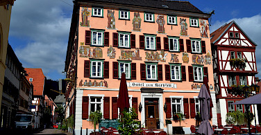 Hotel zum Karpfen, Eberbach, Germany. Photo via Flickr:Richard Gould