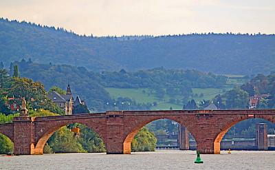 Famous bridge in Heidelberg, Germany. Flickr:revjett