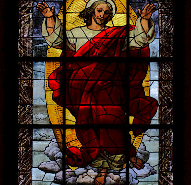 Beautiful stained glass in Providenzkirche in Heidelberg, Germany. Flickr:stanze