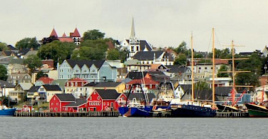 Lunenburg, a UNESCO Heritage Site in Nova Scotia, Canada. Photo via Flickr:Barney Moss