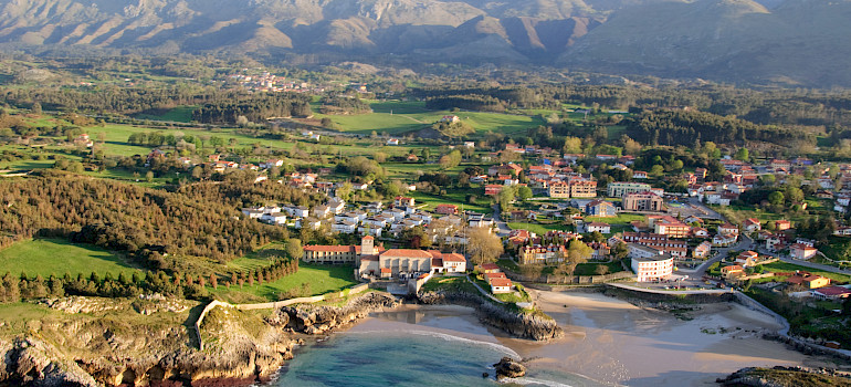 Llanes in the Asturias, Spain. Photo via Flickr:AsturZephyra