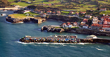 Harbor in Llanes, Spain. Photo via Flickr:Nacho Castejon Martinez