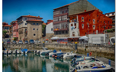 Puerto in Llanes, Spain. Photo via Flickr:Robert