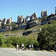 Great rock formations in La Rioja, Spain. Photo via TO