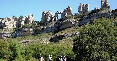 Great rock formations in La Rioja, Spain. Photo via IberoCycle