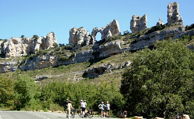 Great rock formations in La Rioja, Spain. Photo via TO