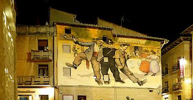 Haro town center, La Rioja, Spain. Photo via Flickr:juantiagues