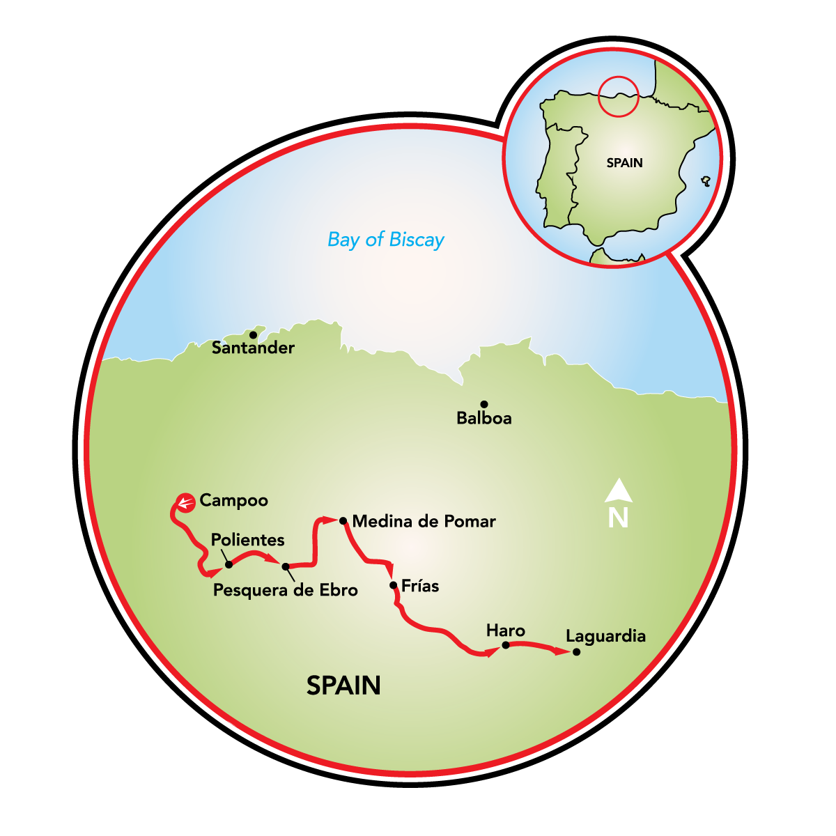 La Rioja Bike Tour Spain Tripsite