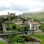 View of Puentedey in La Rioja, Spain. Flickr:santiago lopez-pastor