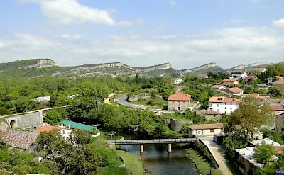 Overlooking Puentedey in La Rioja, Spain. Flickr:santiago lopez-pastor