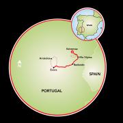 Viñedos de Alentejo Mapa