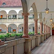 <i>Arkadenhof im Linzer Landhaus</i> in Linz, Austria. Photo via Flickr:Renate Dodell