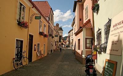 Quiet street in Durnstein, Austria. Photo via Flickr:jay8085