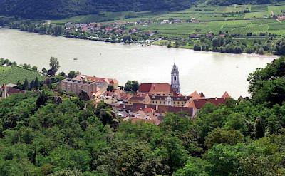 Another view of Wachau Valley with Dürnstein, Austria. Flickr:Mikel Ortega