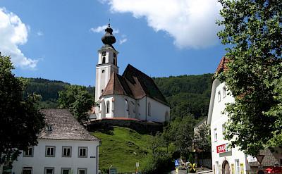 Engelszell Abbey, a Trappist Monastery in Engelhartszell, Austria. Flickr:Mprinke