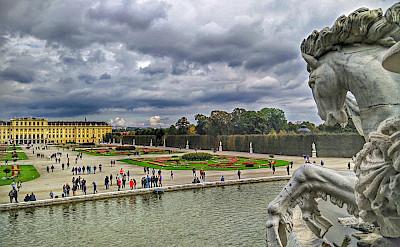 Schönbrunn Palace in Vienna, Austria. Flickr:r chelseth