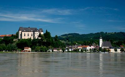 Along the Danube in Grein, Austria. Photo via Flickr:Kevin Jones