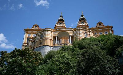 Melk Abbey in Melk, Lower Austria, Austria. Flickr:jay8085