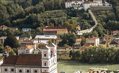 Bike rest in Passau, Germany. Flickr:Raymond Zoller