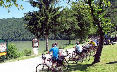 Biking near Schlögen, Austria. Flickr:Don Heffernan