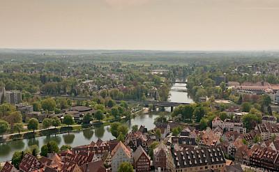 The Danube winding through Ulm in Baden-Wurttemberg, Germany. Flickr LenDog64