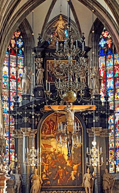 Stephansdom in Vienna, Austria. Photo via Flickr:Dennis Jarvis