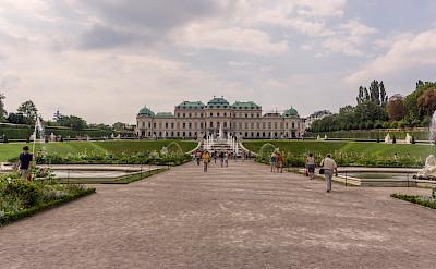 Belvedere Castle in Vienna, Austria. Flickr:Miguel Mendez
