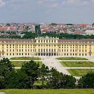Schönbrunn Palace in Vienna, Austria. Photo via Flickr:Kurt Bauschardt