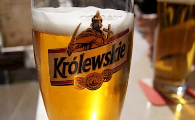 Królewskie, a popular Polish beer in Warsaw, Poland. Flickr:BOM HEE LEE