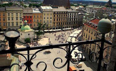 Gorgeous architecture to cycle through in Krakow, Poland. Flickr:lisa-skorpion