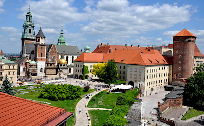 Wawel Castle and Cathedral in Krakow, Poland. Flickr:Corinne Cavallo