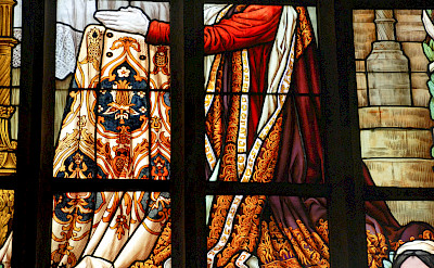 Stained-glass windows in the glorious churches in Kutna Hora, Czech Republic. Flickr:Xiquinho Silva