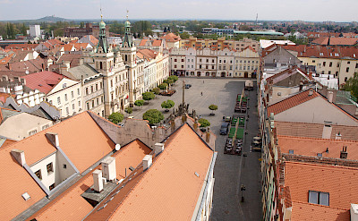 Pardubice on the Elbe River in Czech Republic. Photo via Flickr:Peter Chovanec