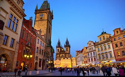Old Town Square in the Czech Republic. Flickr:Moyan Brenn